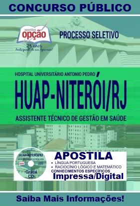 Apostila HUAP Niterói UFF - Técnico de Gestão em Saúde - HUAP-RJ