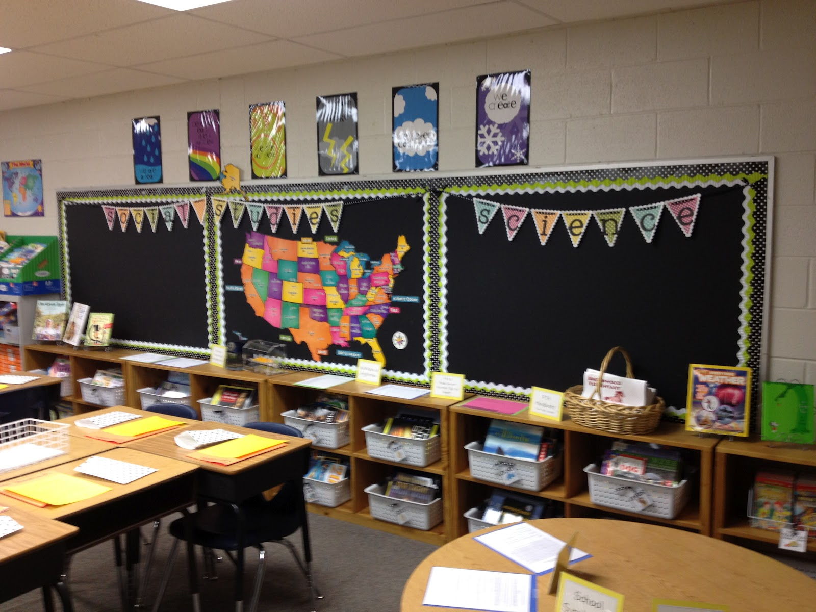 Classroom Wallpaper Design : The polka dotted teacher come in and make yourself at home