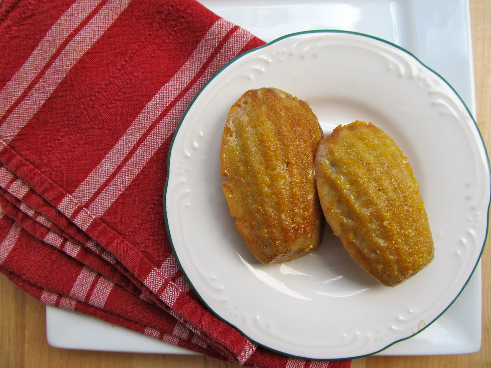 Mary Quite Contrary Bakes: Orange Cardamom Madeleines