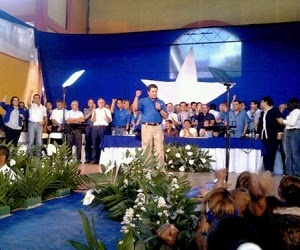 Partido Nacional, Honduras, Convencion Nacional 2014