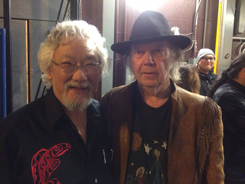 David Suzuki, Neil Young