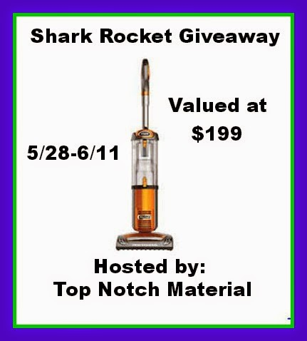 Shark Rocket Vacuum Giveaway