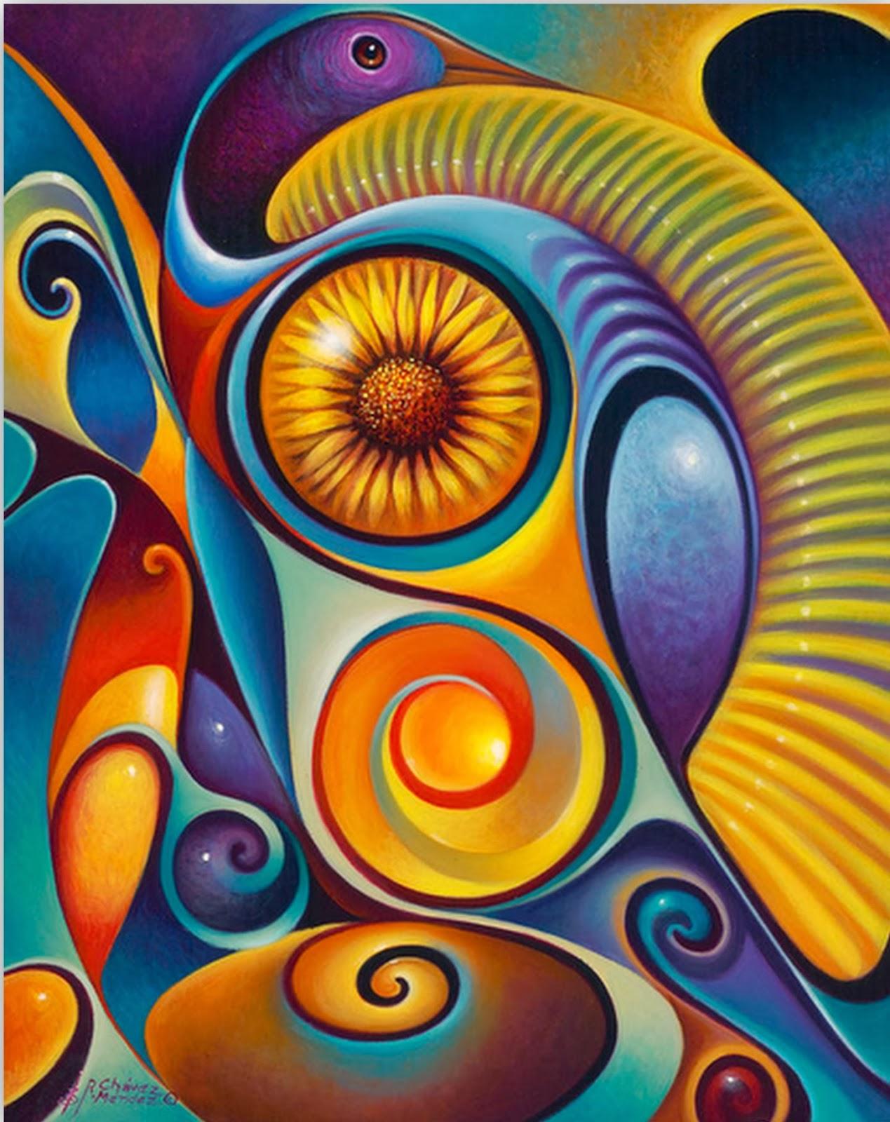 Pintura moderna y fotograf a art stica expresionismo for Imagenes de cuadros abstractos faciles de hacer