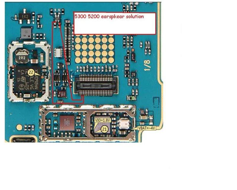 Nokia 1600 1100 Earpiece Problem  Apps Directories