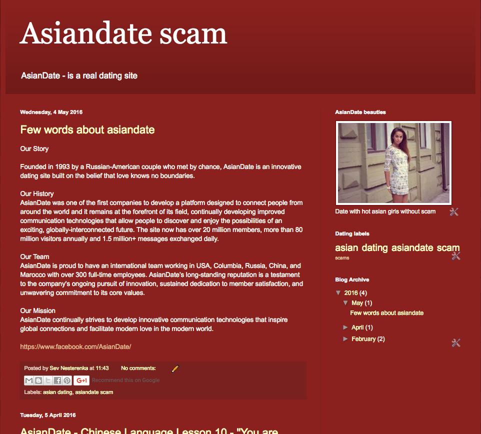 asiandate scam
