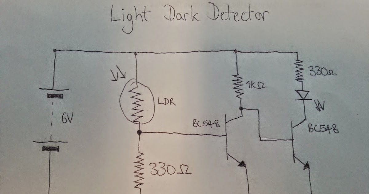 Light Dependant Resistor PhotoResistor LDR Darkness Detector