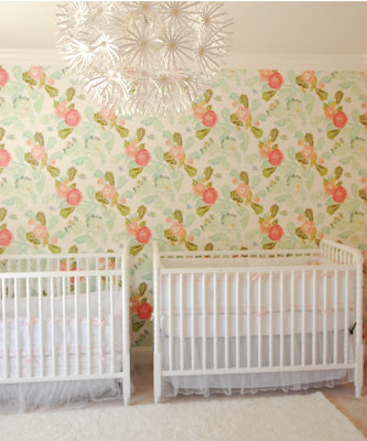 Visual Eye Candy Girly Girl Nursery Feature