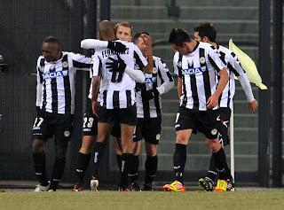 Resultado Partido Udinese Vs AC Milan (1-2)