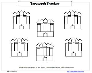 Taraweeh Tracker
