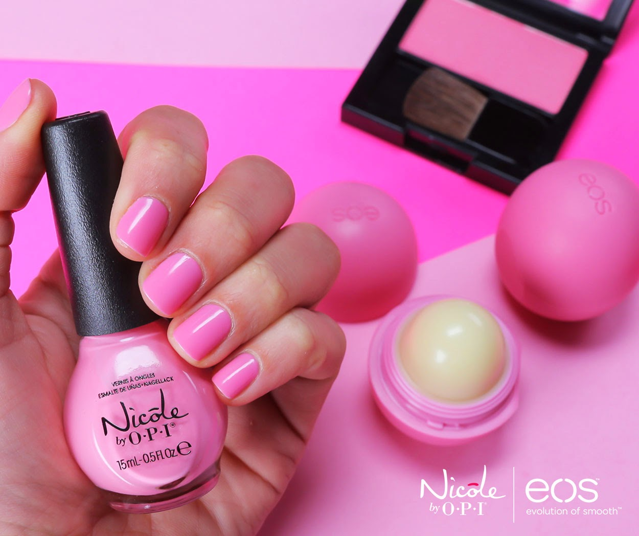 Never Enough Nails: EOS Lip Balm and Nicole by OPI Partner for ...