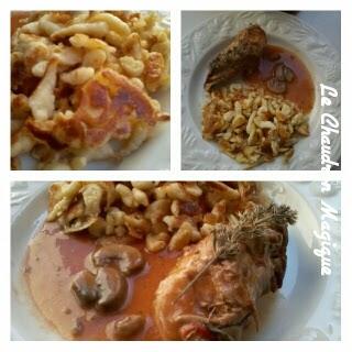 Le chaudron magique filet mignon de porc aux champignons - Cuisiner le filet mignon de porc en cocotte ...