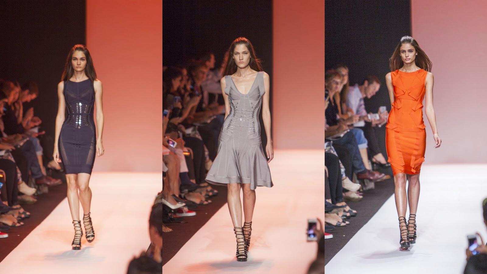 Mercedes-Benz Fashion Week New York: Hervé Léger by Max Azria