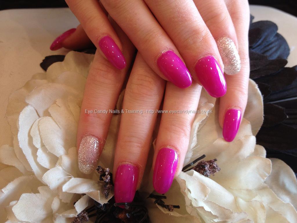 Eye candy nails training salon nail art photo by nicola for Acrylic nails at salon
