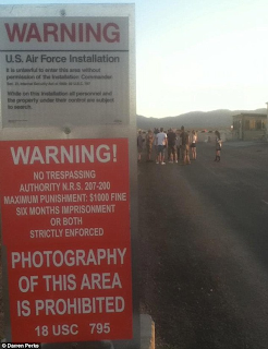 Area 51 1 12 Man Film Crew from BBC Held Captive for Trespassing on Area 51