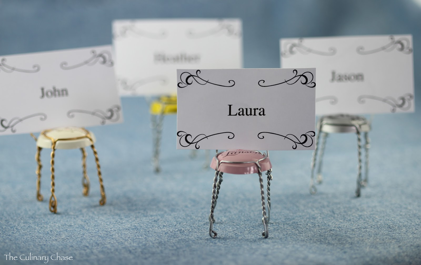 diy place card holders u2013 a bit of whimsy
