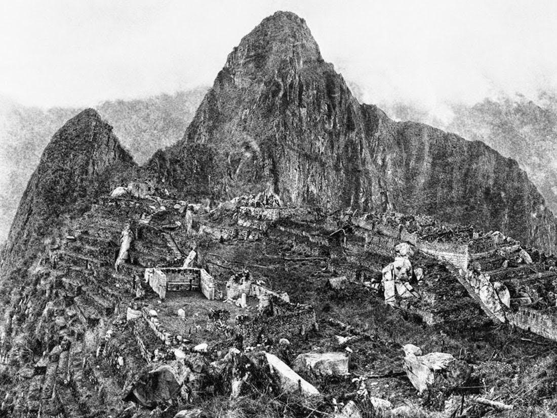 Primera fotografía de Machu Picchu