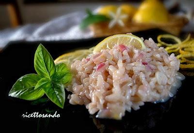 Risotto limone e zenzero ricetta primi vegetariani