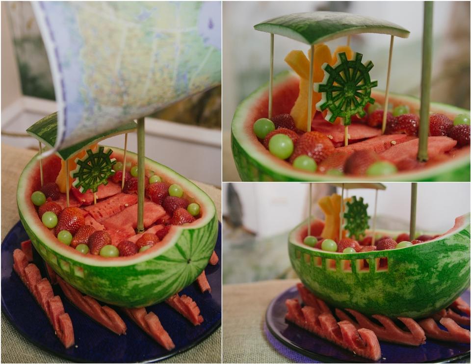 Watermelon Boat Amazing watermelon boat