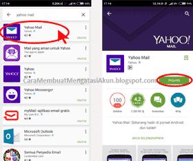 cara membuat email yahoo di android