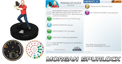 Comic-Con Episode IV: A Fan's Hope DVD & Heroclix Combo Pack - Morgan Spurlock Heroclix
