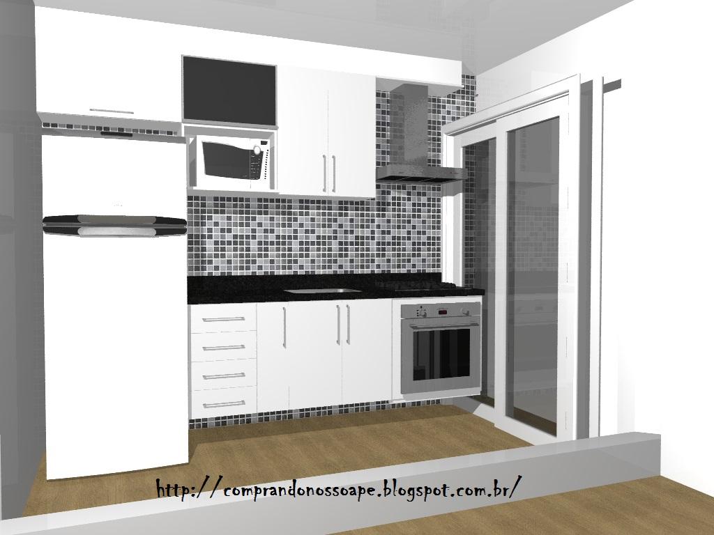 #62533A Comprando nosso Apê : Móveis planejados Parte 5 Cozinha 1024x768 px Balcão De Cozinha Americana Com Armario_1929 Imagens