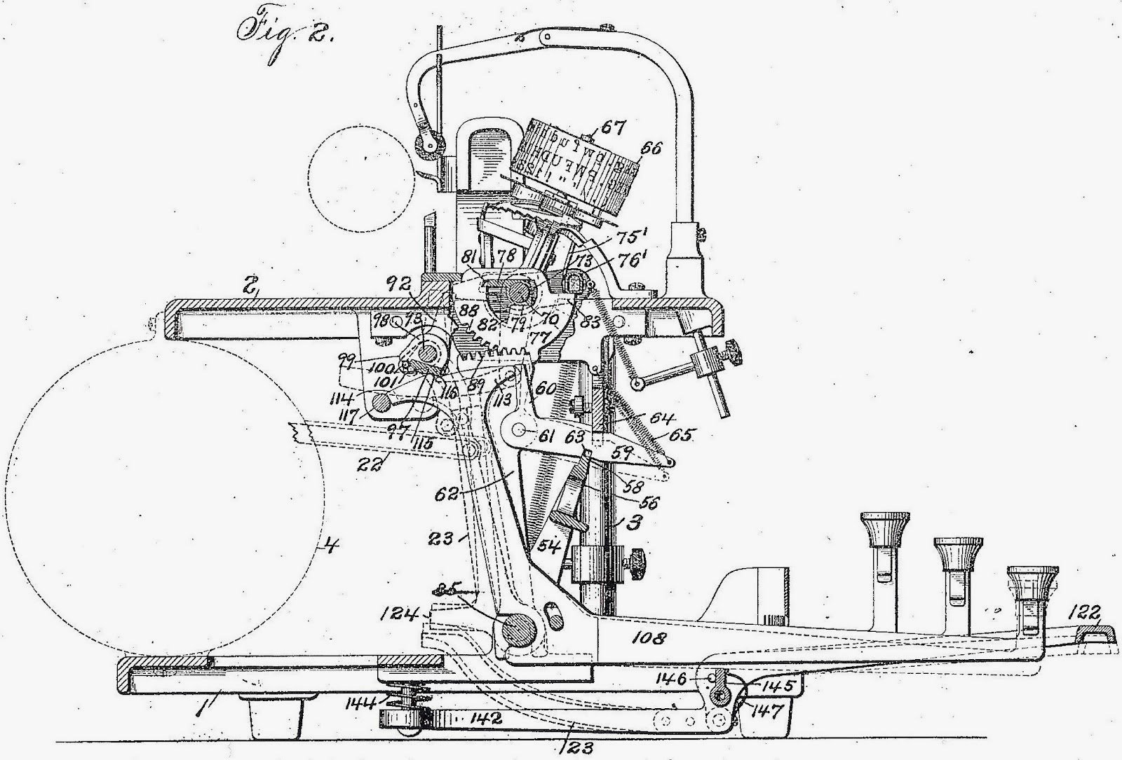 oz typewriter 2014 this electric blickensderfer patent schematic will be used by theatre students at duke university durham north carolina to publicise s staging of
