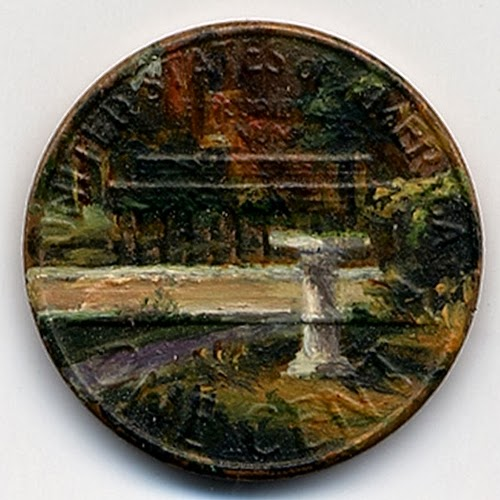 06-The-Baptistery-1980-Artist-Jacqueline-L-Skaggs-Discarded-Pennies-Oil-Painting-on-Coins-www-designstack-co