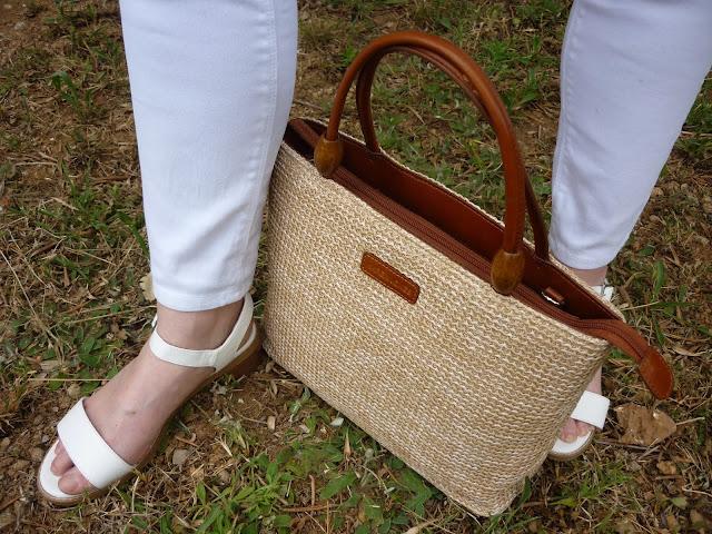 White Sandals White Jeans