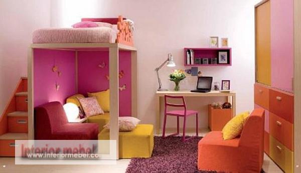 desain unik kamar tidur minimalis