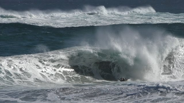 Rescue of Concussed Bodyboarder from Drowning