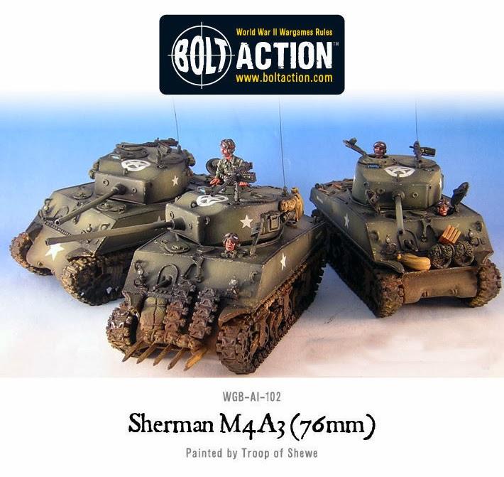SHERMAN M4A3 TANK COMPANY