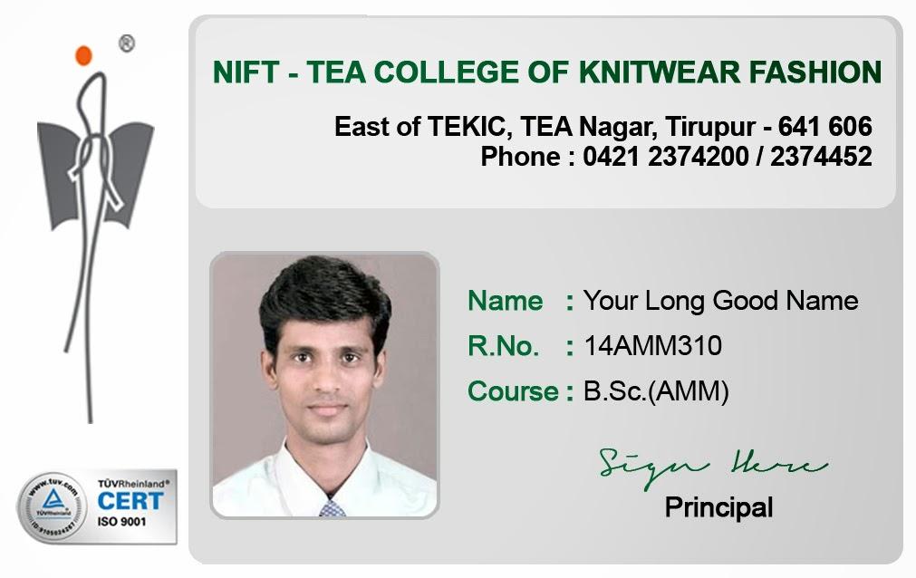 ID Card - Coimbatore - Ph: 97905 47171: Student ID Card Templates ...