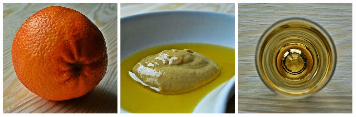 Ostry sos pomarańczowy - składniki