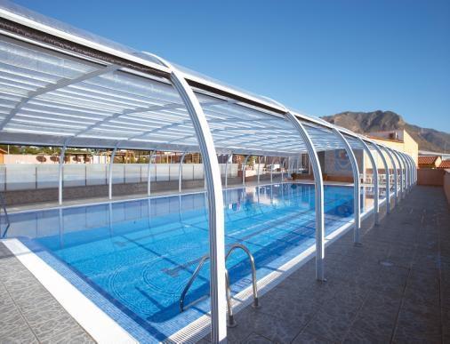Fotos de cubiertas para piscinas cosmoval 644 34 87 47 for Techo piscina cubierta