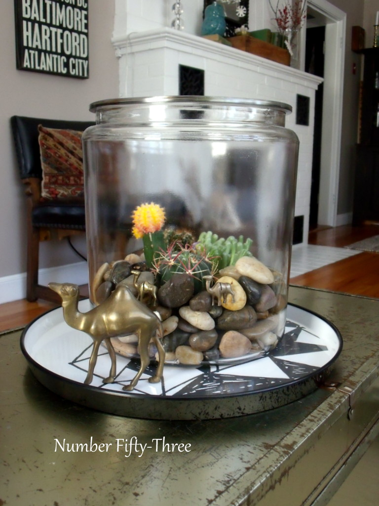 Number Fifty Three Diy Coffee Table Terrarium