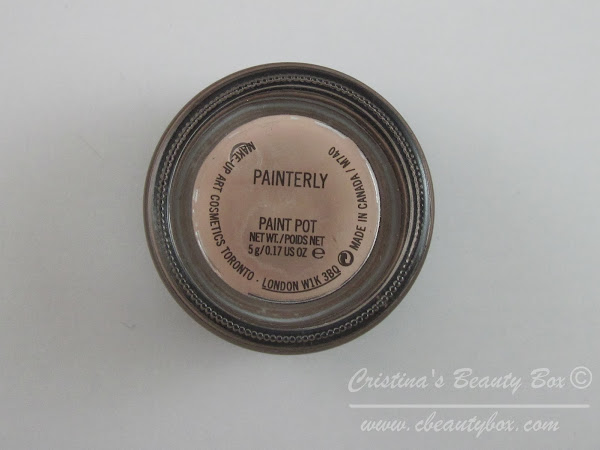 MAC Paint Pot - Painterly - the Best Primer for Oily Eyelids?