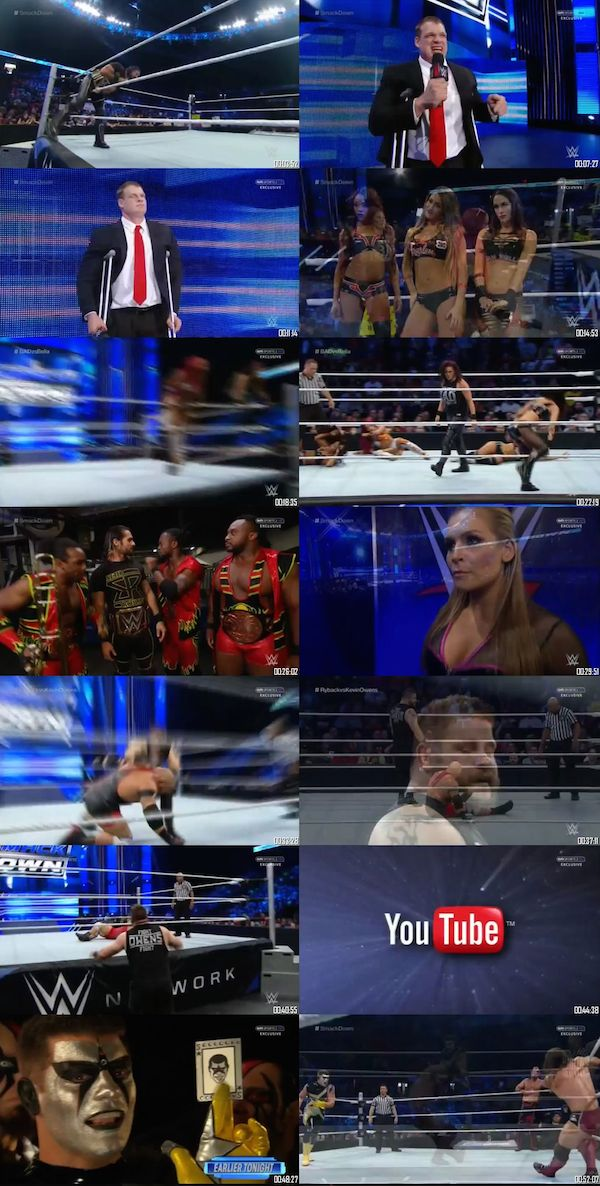 WWE Thursday Night Smackdown 1st Oct 2015 HDTV 480p