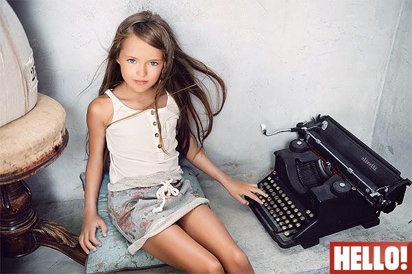 Interview mom Kristina Pimenova magazine HELLO!