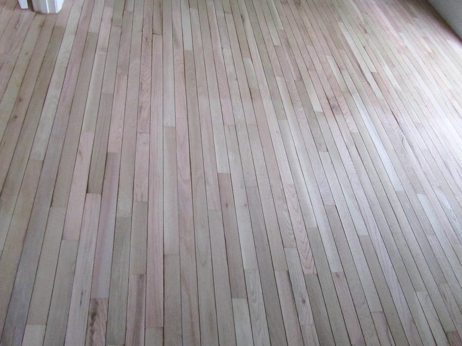 Acanthus and Acorn The Process Refinishing Hardwood Floors