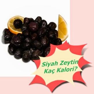 Siyah Zeytinin Kalori Miktarı