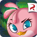 Angry Birds Stella Icon Logo