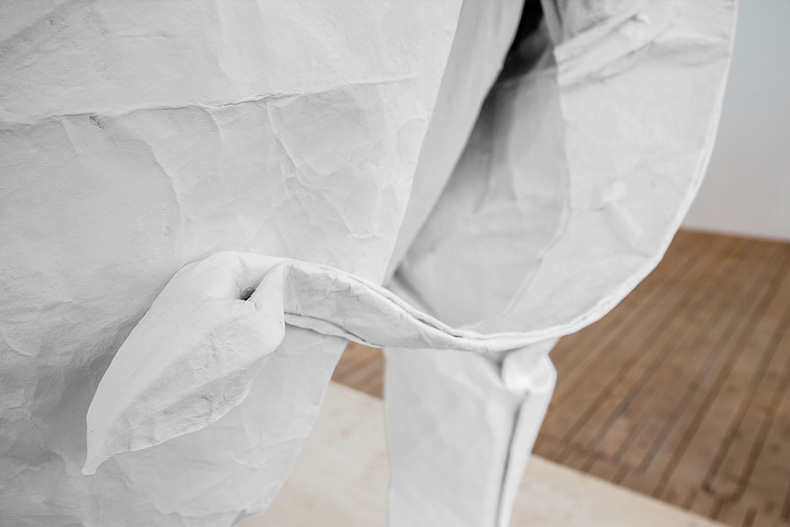 Origami elefante papel Sipho Mabona