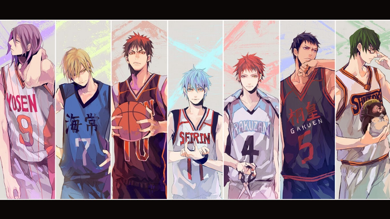 generation of miracles aomine - photo #5