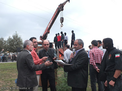 Public hanging in Iran in September 2013