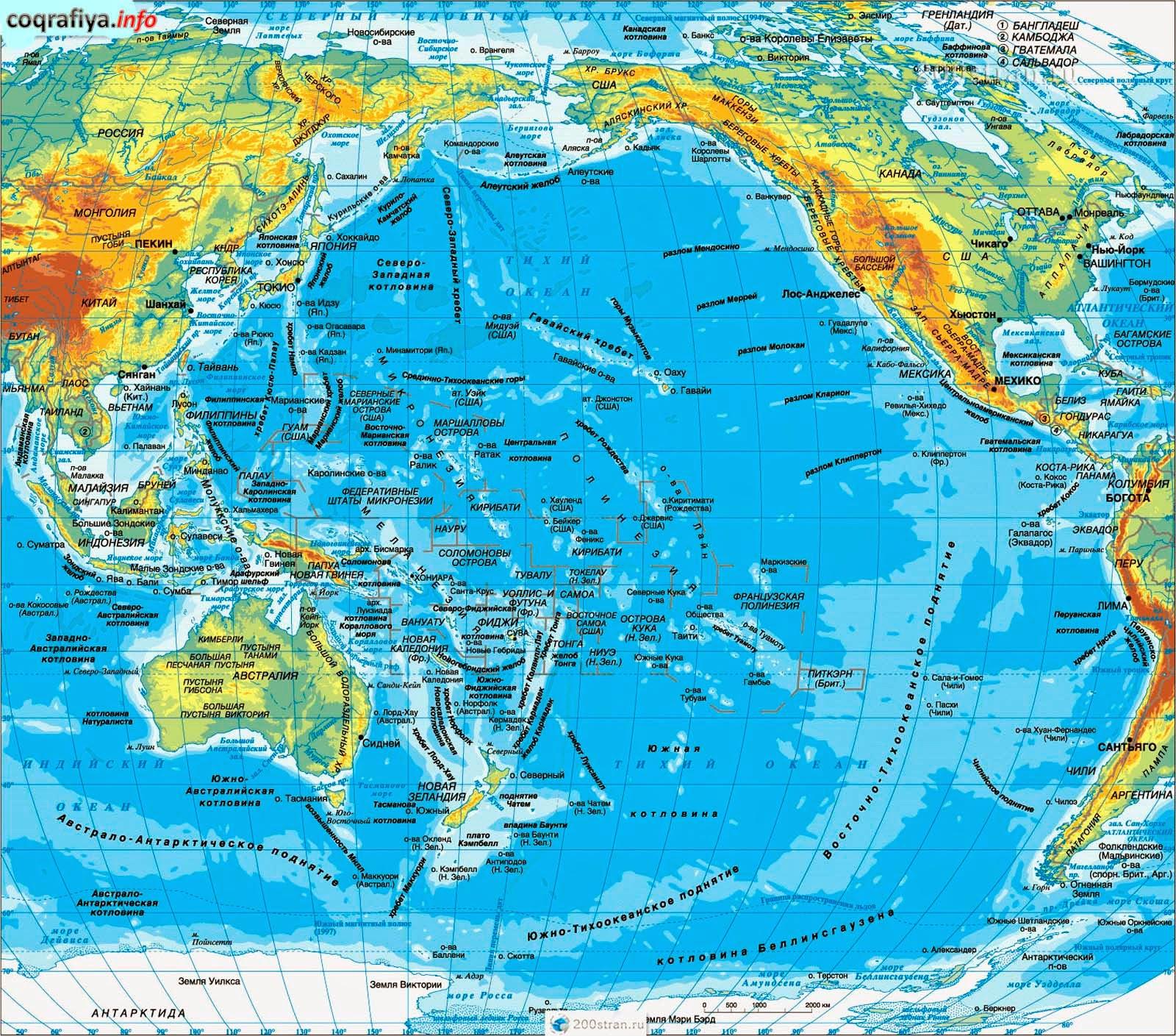 Презентация По Географии Тихий Океан