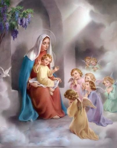 27/11 - Maria: Virgem poderosa e porta do céu