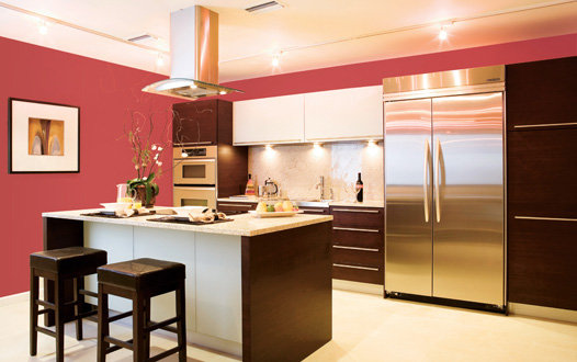 Http Freshomedesignideas Blogspot Com 2011 03 Coral Colors Kitchen Interior Design Html