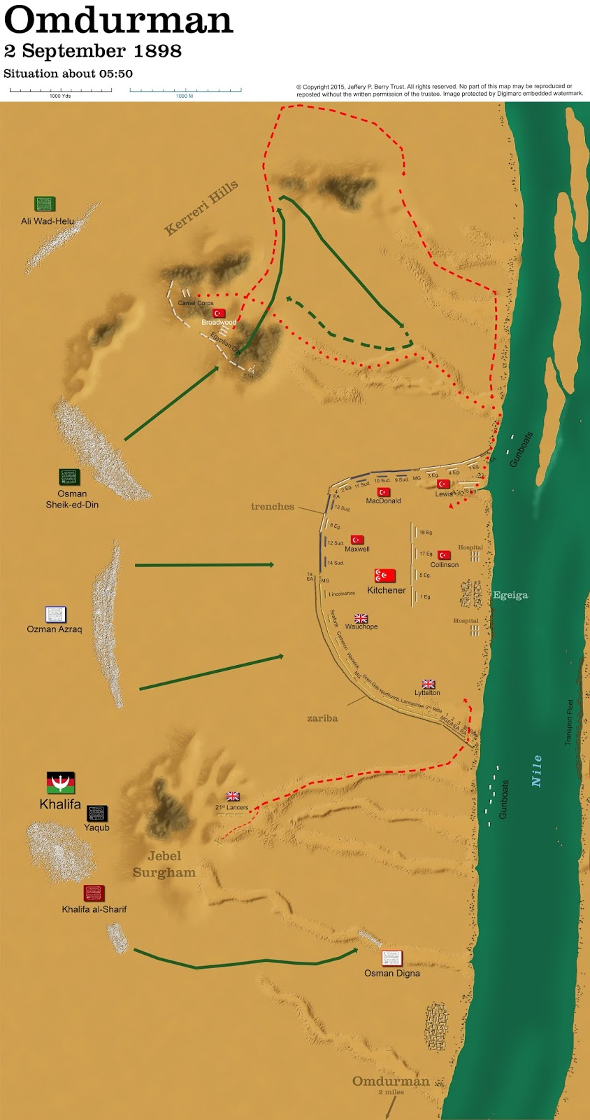 Obscure Battles Omdurman 1898