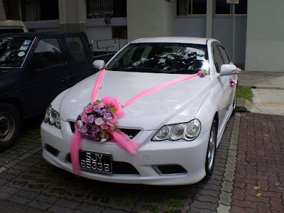 Toyota Mark X Wedding Car