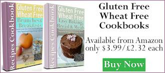 Gluten Free Wheat Free Easy Baking, Bread & Meals Recipes Cookbook